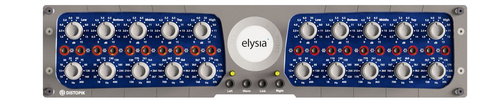 Elysia museq mix:analog GUI