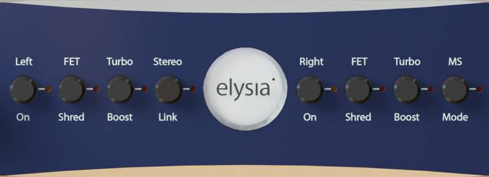 Elysia karacter center section buttons