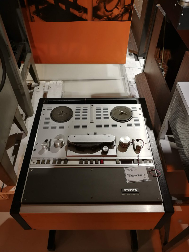 Studer B67 tape machine
