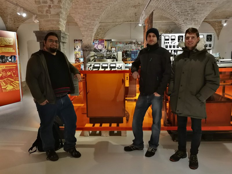 mixanalog team at Jugoton exhibition in TMS