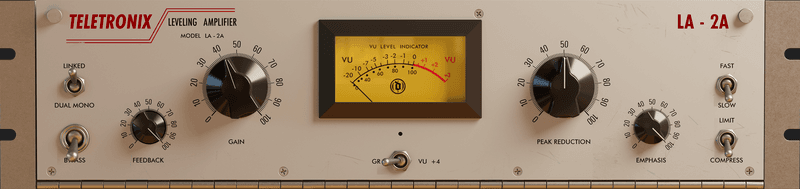 LA-2A GUI at mix:analog