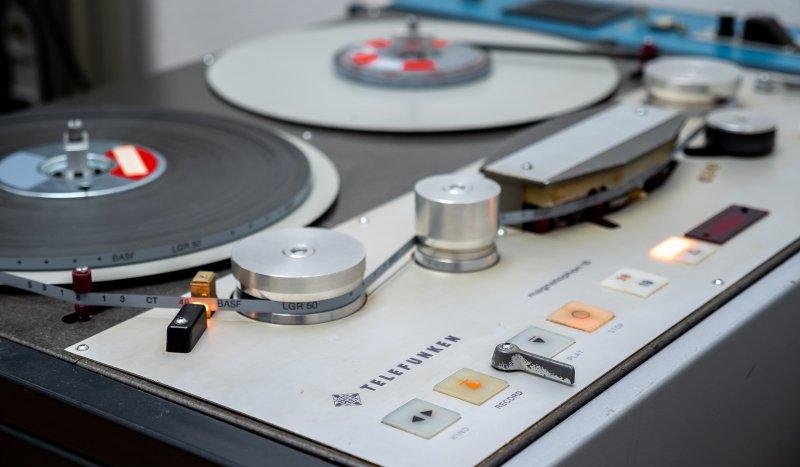 Telefunken M15 magnetophon tape machine at mix:analog