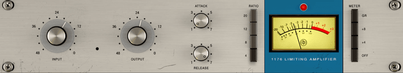 1176 user interface on mixanalog