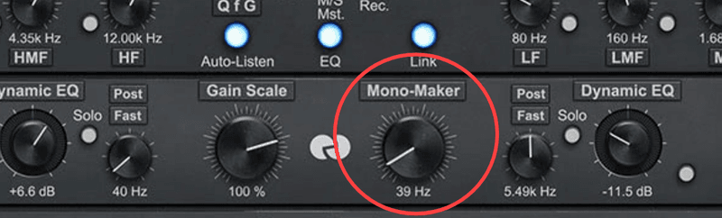 bx_digital V3 GUI mono-maker knob