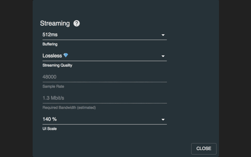 mixanalog streaming settings dialogue