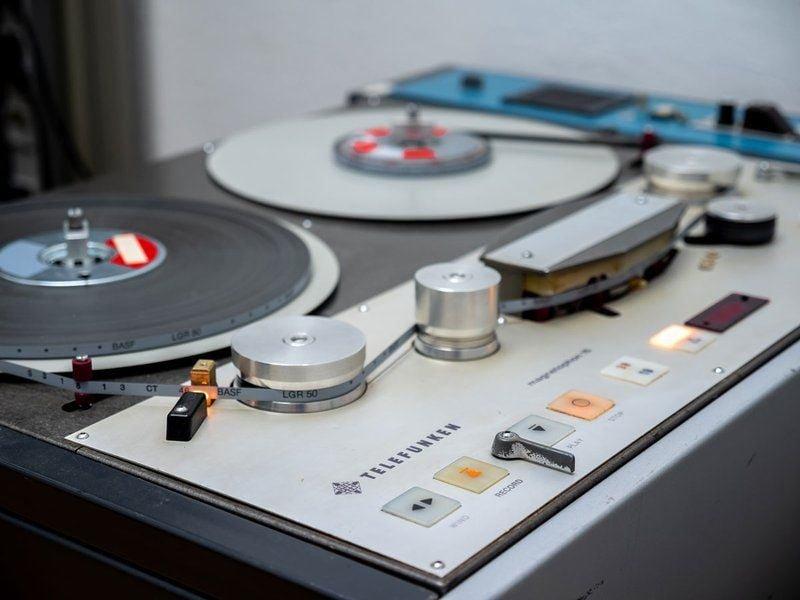 telefunken m15 tape machine