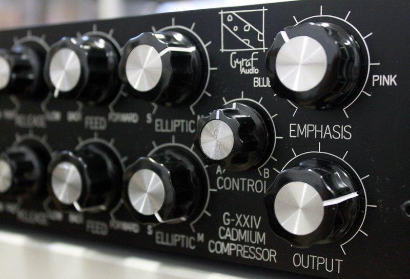 Gyraf G24 Passive/Aggressive Compressor front panel