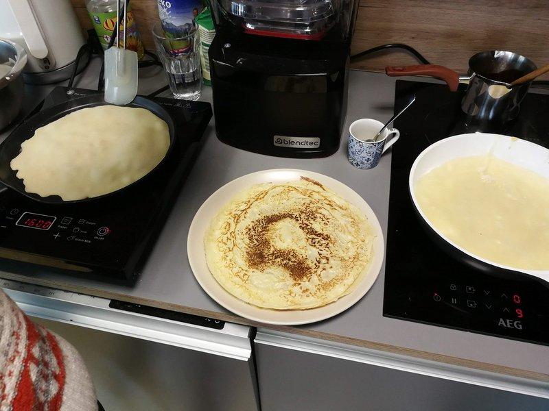 Behold, pancakes!