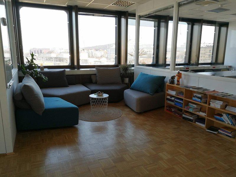 Reading corner in the office