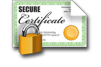digital certificate access file storage security