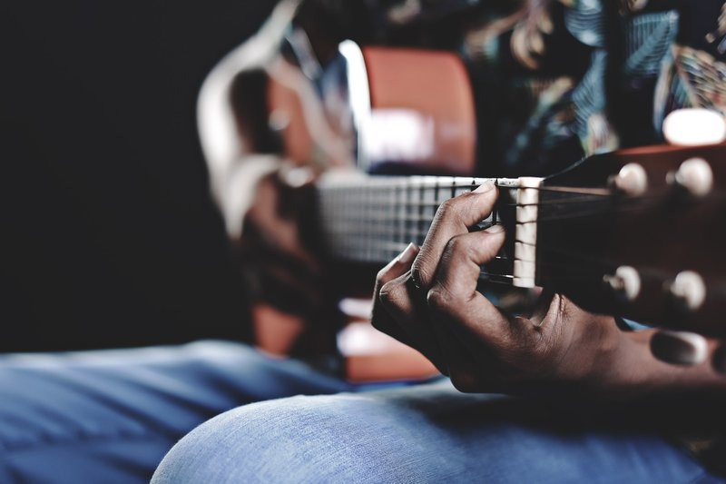 guitar - getting rid of unnecessary sounds can increase apparent loudness