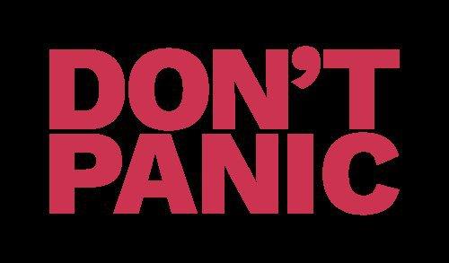 "Image showing ""Dont Panic"" Blog of Amar Vyas"