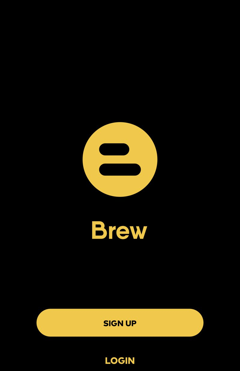 Screenshot of IOS App for Brew. Image by Amar Vyas for gaatha story
