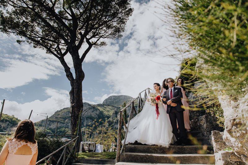 Trouwen aan de Amalfikust - Esmeralda & Dan - Wedding Planner: Art'Anna - Fotograaf: LUX Visual Storytellers - House of Weddings