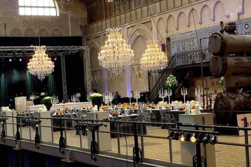 La Brugeoise - Industriële feestzaal te West-Vlaanderen (Brugge) - Huwelijksfeest - House of Weddings