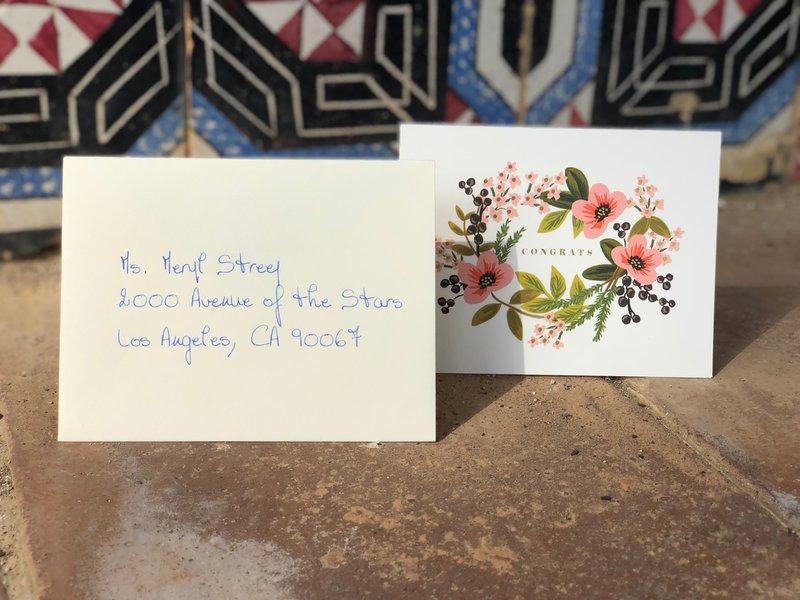 Uitnodiging Meryl Streep door Edward Write - House of Weddings