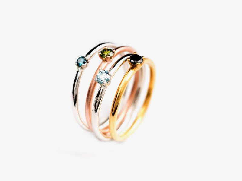 Elisa Lee - Moderne trouwringen - Juwelen - House of Weddings