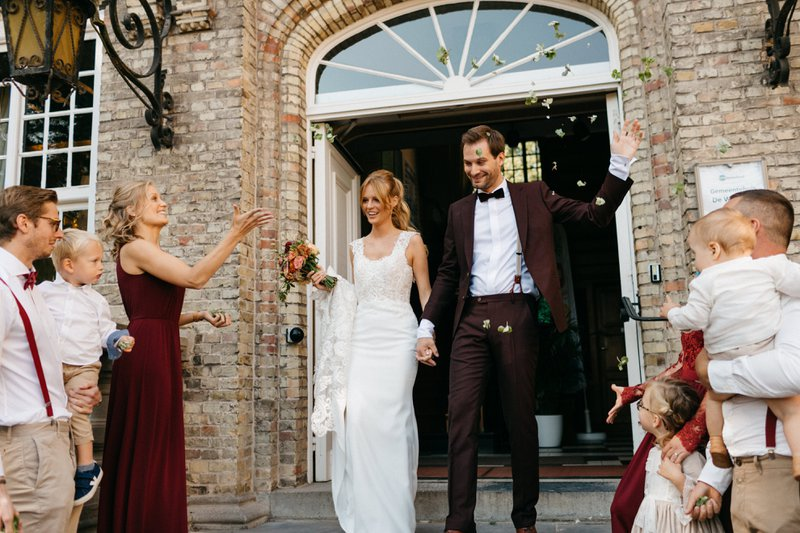 Het herfsthuwelijk van Ciska & Jimte - Wedding Planner: Elegant Events - Fotograaf: Mathias Hannes Weddings - House of Weddings