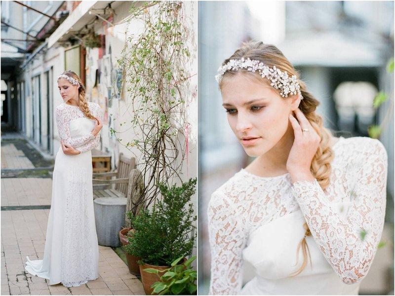 Bruid/bruidsmeisje met vlecht als kapsel - House of Weddings