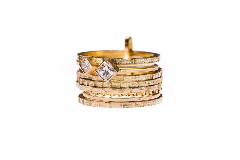 Lore van Keer - Moderne trouwringen - Juwelen - House of Weddings