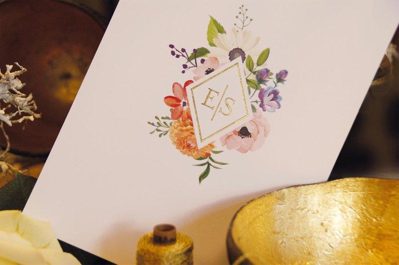 Bohemian Chic drukwerk uitnodiging - Anderz - House of Weddings