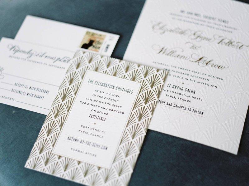 Drukwerk wedding in Paris - Real Wedding - Elisabeth & Bill - Gert huygaerts - House of Weddings