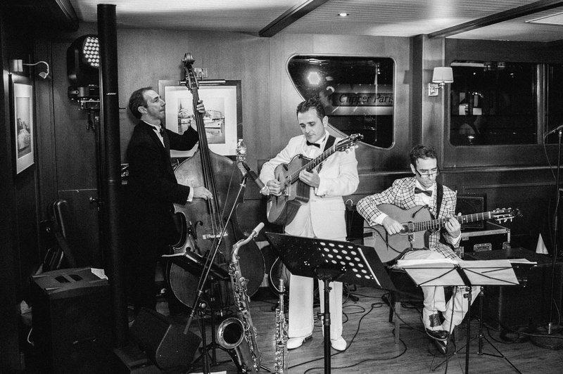 Jazzband Gatsby - Real Wedding - Elisabeth & Bill - Gert huygaerts - House of Weddings