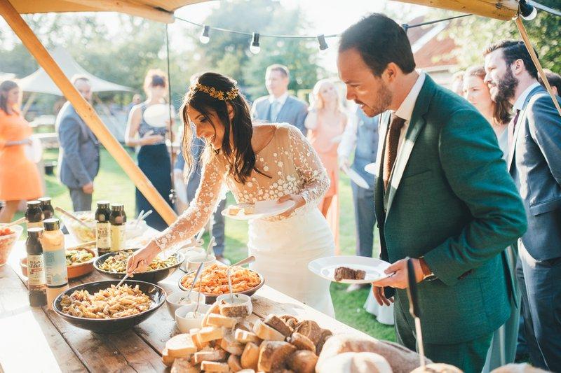 Het intieme huwelijksfeest van Julie & Bert - Real Wedding - House of Weddings