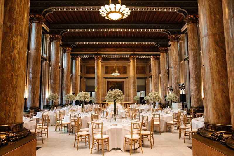 Art Deco marmeren zaal - Zoo Antwerpen - House of Weddings
