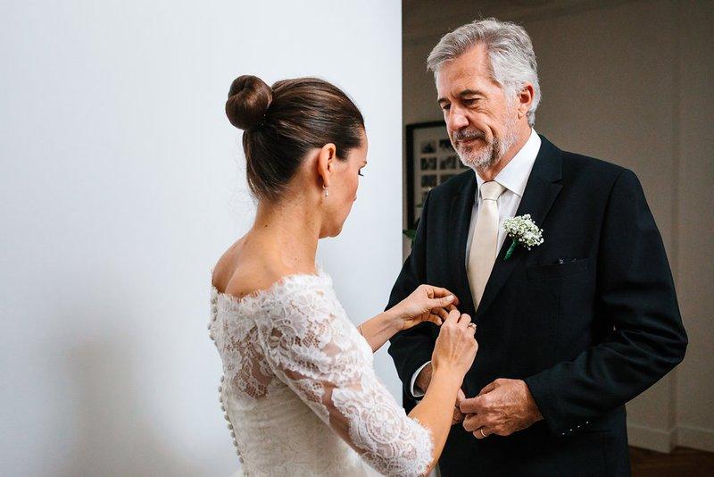 Bruid met vader - House of Weddings