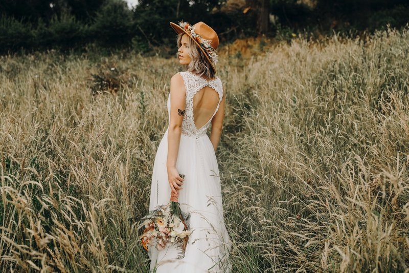 Bohemian trouwjurk: een hippe trend! - House of Weddings