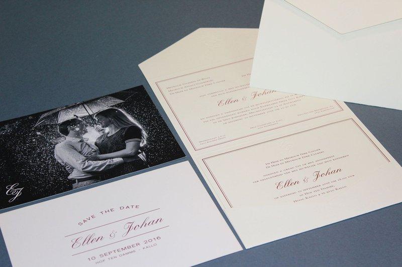 De uitnodiging voor je huwelijk in 7 stappen! - Papeterie Leysen - House of Weddings