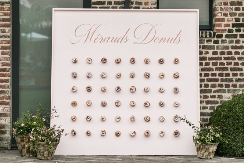Donut Wall - Catering trend - House of Weddings