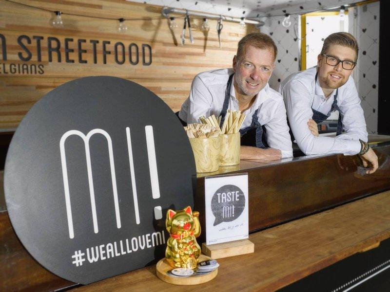Mi! Hippe foodtrucks met een wereldse keuken: Amerikaanse en Aziatische keuken met een Belgische twist. -House of Weddings