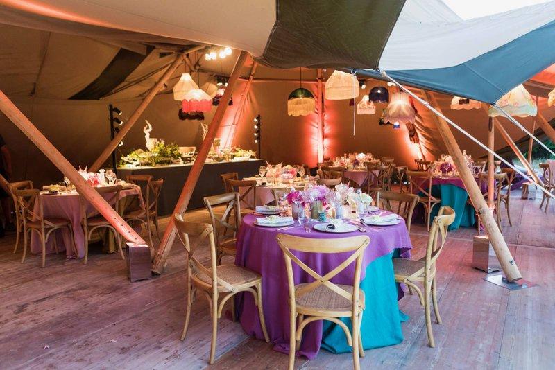Leuke eyecatchers op je huwelijk - Creatief tafellinnen - House of Weddings