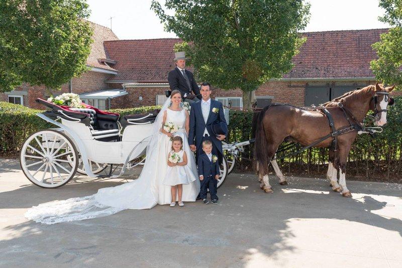 Trouwkoets - Manorhoeve - House of Weddings