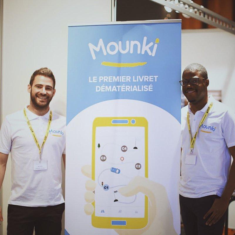 Cédric QUADJOVIE & Romain B - Fondateurs Mounki