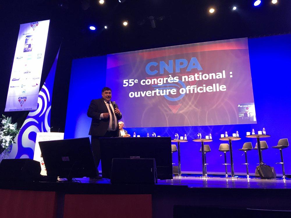 Congrés CNPA - Patrick Bessone