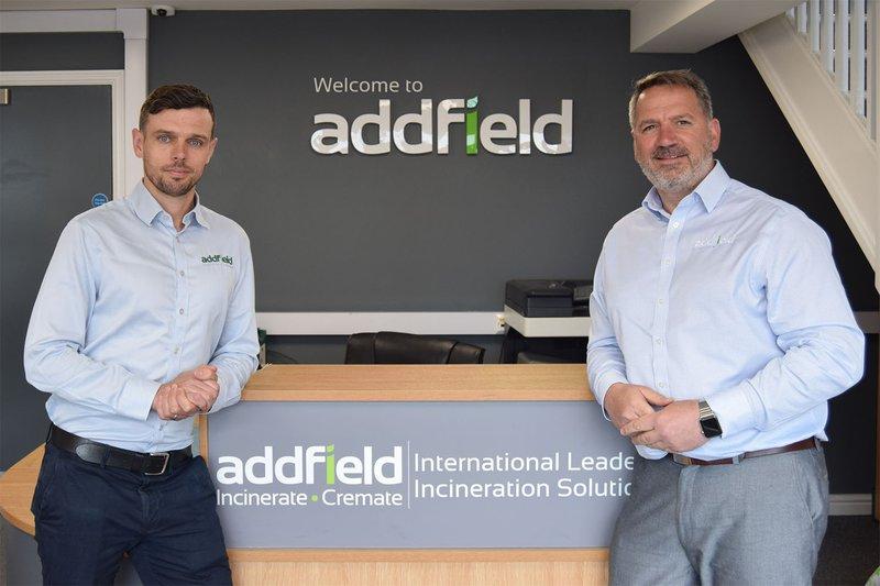Derek Carr managing director at Addfield and Steve Lloyd CEO of Addfield