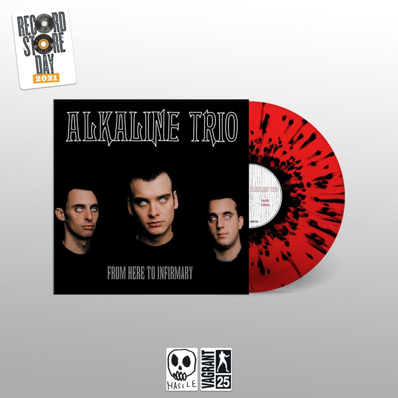 Alkaline Trio From Here To Infirmary Vinyl LP