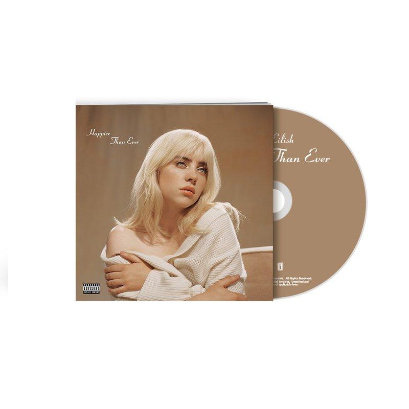 Billie Eilish Happier Than Ever Standard CD