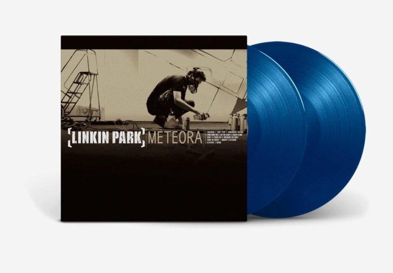 Linkin Park Meteora Aqua Blue Vinyl LP