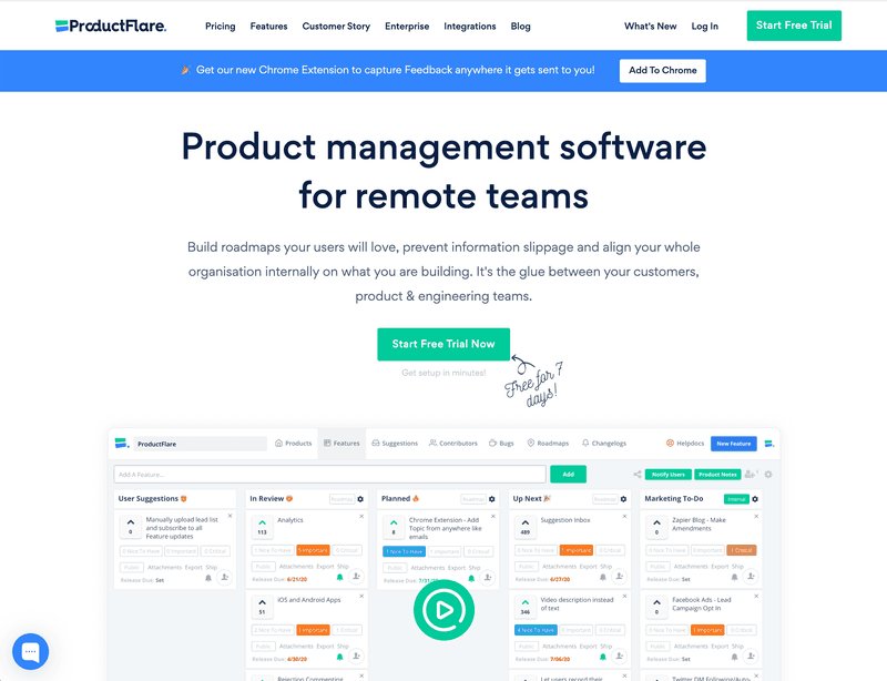 ProductFlare is a super tool for all product managers and product teams