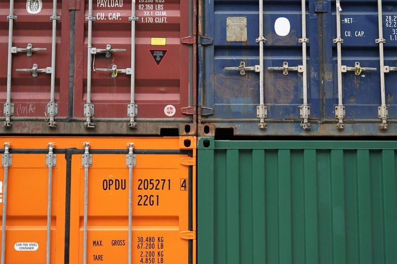 Frachtführerhaftung - Container gestapelt