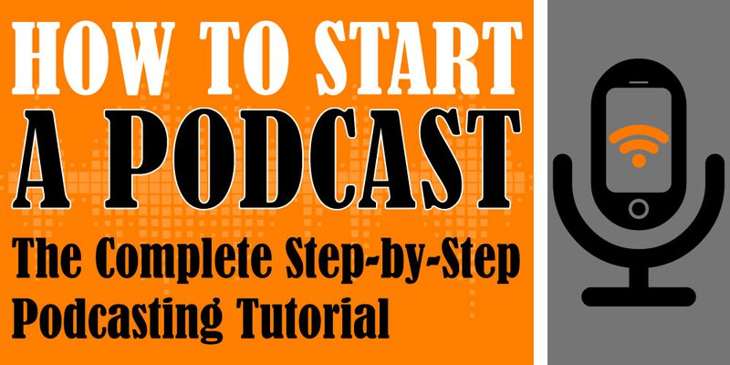 How to start a podcast!