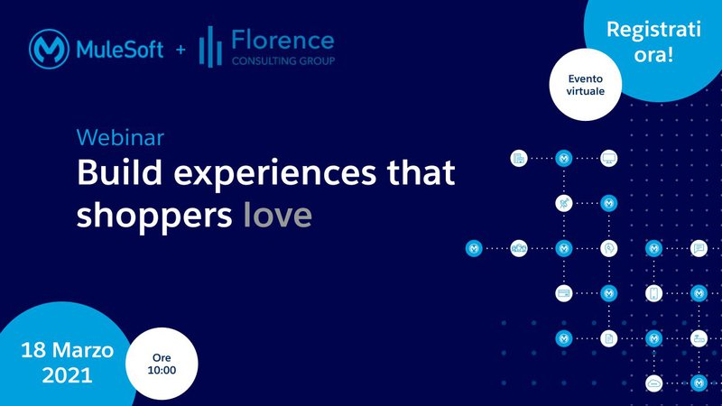 """Webinar eCommerce: """"Build Experiences that Shoppers Love"""" 
