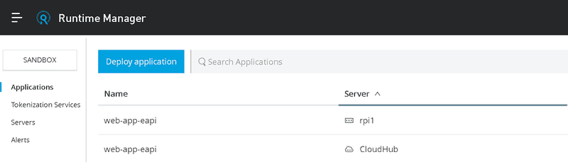 Runtime Manager - MuleSoft Anypoint Platform