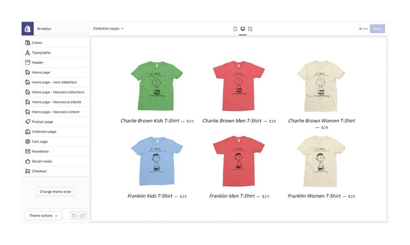 Shopify Store Builder | Commerce Layer vs Shopify