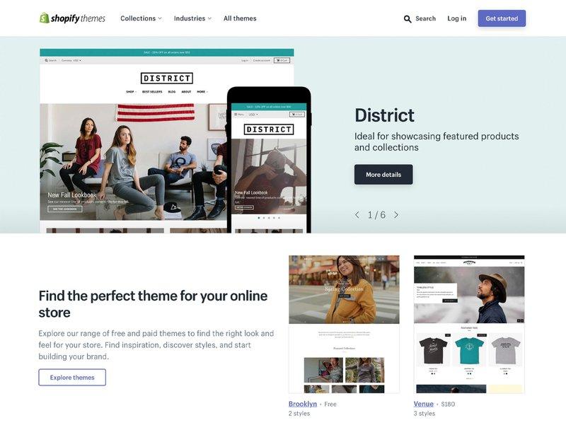 Shopify Theme Store | Commerce Layer vs Shopify
