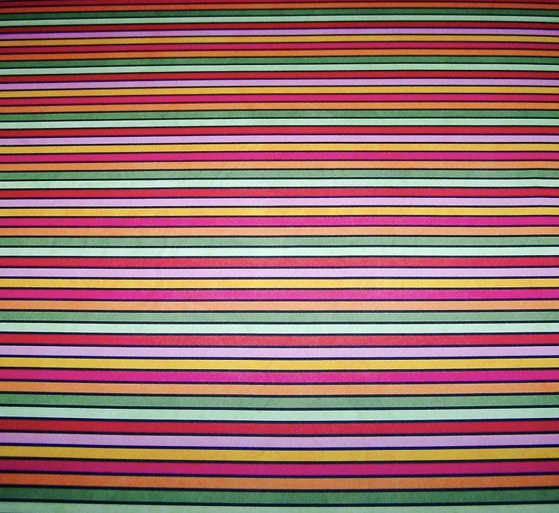 Bo Bunny Sweet Clementine stripe